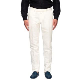 Ermenegildo Zegna Pants Chino Trousers In Linen And Cotton
