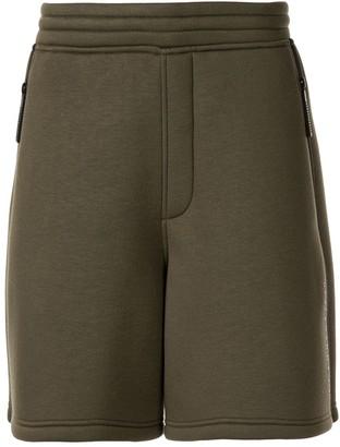 Blackbarrett Zipped Pull-On Track Shorts