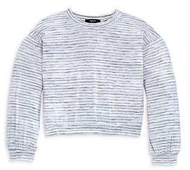 Aqua Girls' Stripe Dolman Sleeve Top, Big Kid - 100% Exclusive