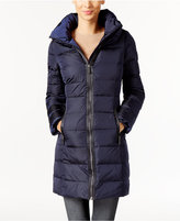 MICHAEL Michael Kors Hooded Mid-Length Puffer Coat