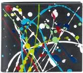 Maison Margiela paint splatter bi-fold wallet