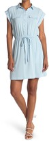Thumbnail for your product : Laundry by Shelli Segal Short Sleeve Button Front Shirt Dress