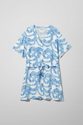 Weekday Agnes Dress - Blue