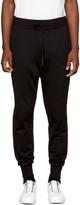 Y-3 Black Classic Cuffed Lounge Pants