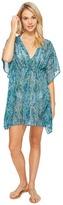 Echo Tropic Paisley Silky Butterfly Cover-Up Women's Swimwear