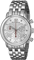 88 Rue du Rhone Women's 87WA130035 Double 8 Origin Analog Display Swiss Quartz Silver Watch