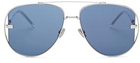 Christian Dior Men's Brow Bar Aviator Sunglasses, 58mm
