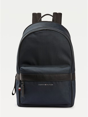 Tommy Hilfiger Contrast Trim Recycled Polyester Backpack