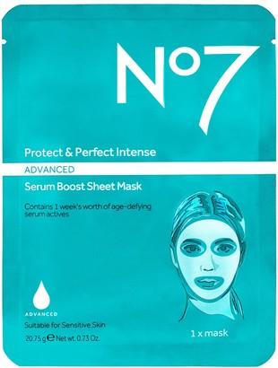 No7 Protect & Perfect Intense Advanced Serum Mask