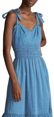 Polo Ralph Lauren Star-Print Cotton Dress