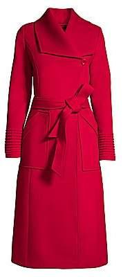 Sentaler Women's Alpaca Wrap Coat