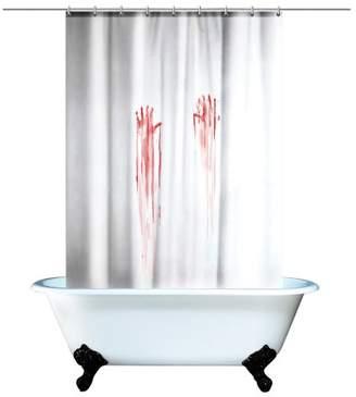 Gift Republic Blood Bath Shower Curtain