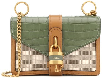 Chloã© Aby Chain leather shoulder bag