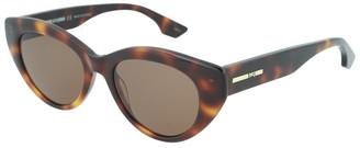 Alexander McQueen Women's Mq0078s 50Mm Sunglasses