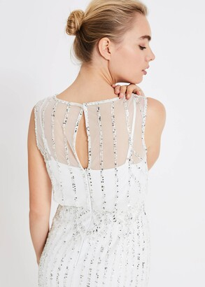 Phase Eight Milly Beaded Wedding Dress