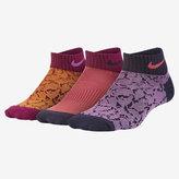 Nike Graphic Lightweight Low-Cut Kids' Socks (3 Pair)