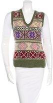 Ralph Lauren Cashmere & Wool-Blend Vest