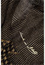 Golden Goose Wool-Silk Flea Scarf in Galles