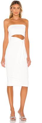 superdown Sheyla Tube Midi Dress