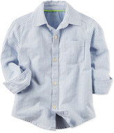Carter's Striped Cotton Shirt, Little Boys (2-7)