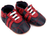 NEW Pre-walker leather sneakers in navy and red Boy's by SKEANIE