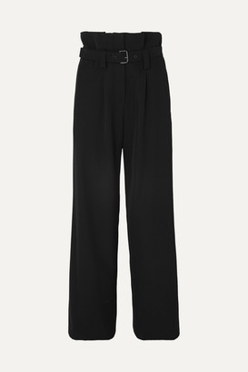 Vanessa Bruno Marceau Belted Twill Pants - Black