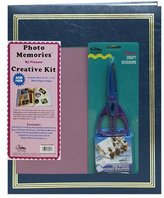 Pioneer Photo Albums 11 3/4 x 14-Inch Jumbo Postbound 100 Page Memory Book Kit, Navy Blue