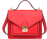 Mellow World Red Keri Structured Crossbody Bag