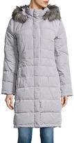 Calvin Klein Plus Faux Fur-Trimmed Puffer Coat
