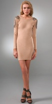Kate Jeweled Shoulder Dress