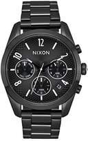 Nixon Women's 'Bullet Chrono 36' Quartz Stainless Steel Casual Watch, Color:Black (Model: A949756-00)