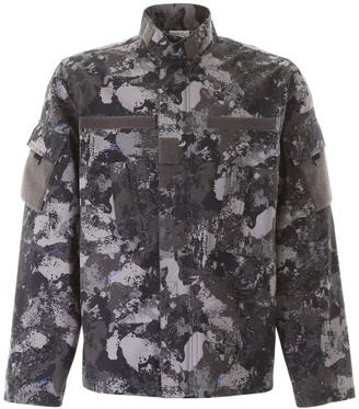 Marcelo Burlon County of Milan Camou Military Jacket