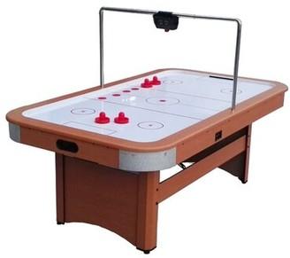 7' Four Player Air Hockey Table with Digital Scoreboard Northlight Seasonal