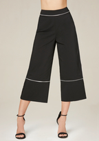 Bebe Piped Crop Pants