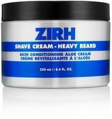 Zirh International Shave Cream Heavy Beard, Skin Conditioning Aloe Cream