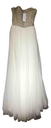 Rachel Gilbert White Silk Dresses