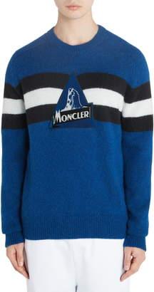 Moncler Stripe Logo Sweater