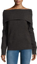 Bailey 44 Anthracite Cowlneck Sweater