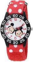 Disney Boy's 'Mickey Mouse' Quartz Plastic and Nylon Watch, Color: (Model: W003003)