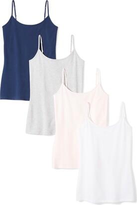 Amazon Essentials 4-pack Camisole Cami Shirt