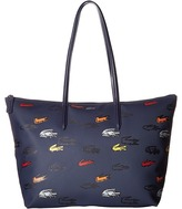 Lacoste L.12.12 Concept Croc Large Shopping Bag Handbags