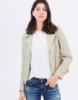 Mng Tachi Leather Jacket