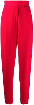 Styland Tapered-Leg Cotton Trousers