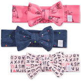 Rosie Pope 3-Pk. Printed Cotton Headbands, Baby Girls (0-24 months)
