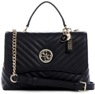 GUESS Blakely Quilted Satchel