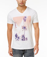INC International Concepts Men's Summer Dreams Graphic-Print Cotton T-Shirt, Only at Macy's