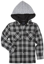 Andy & Evan Infant Boy's Hooded Flannel Shirt