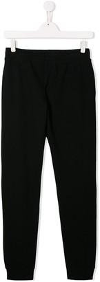 Moschino Kids TEEN logo printed sweatpants