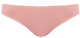 Araks Isabella Organic-cotton Briefs - Light Pink