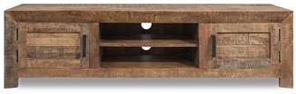 Overstock 2 Door Solid Mango Wood Media Console